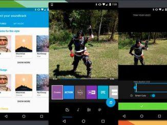 Applications Android pour éditer des vidéos