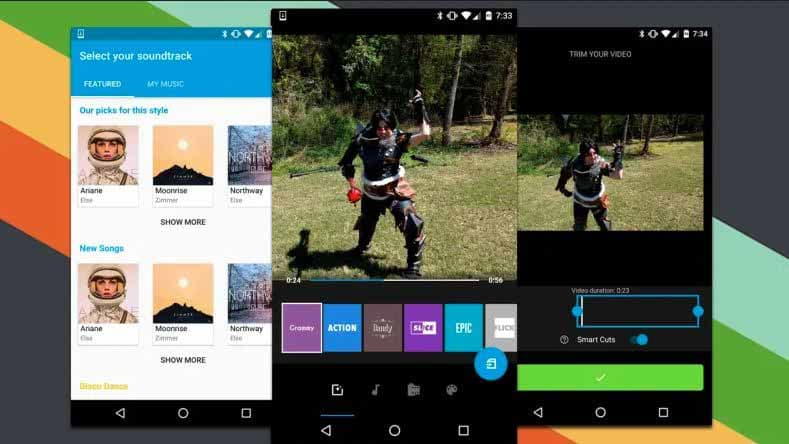 Android Apps to Edit Videos