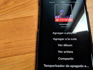 Spotify timer