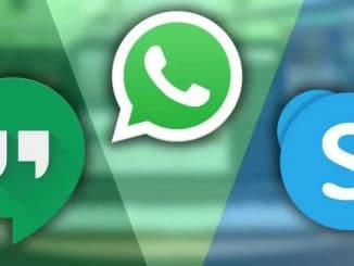 apeluri video-WhatsApp-skype-hangouturi