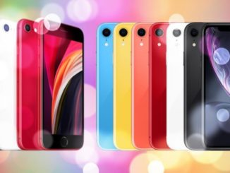 iPhone SE vs iPhone XR