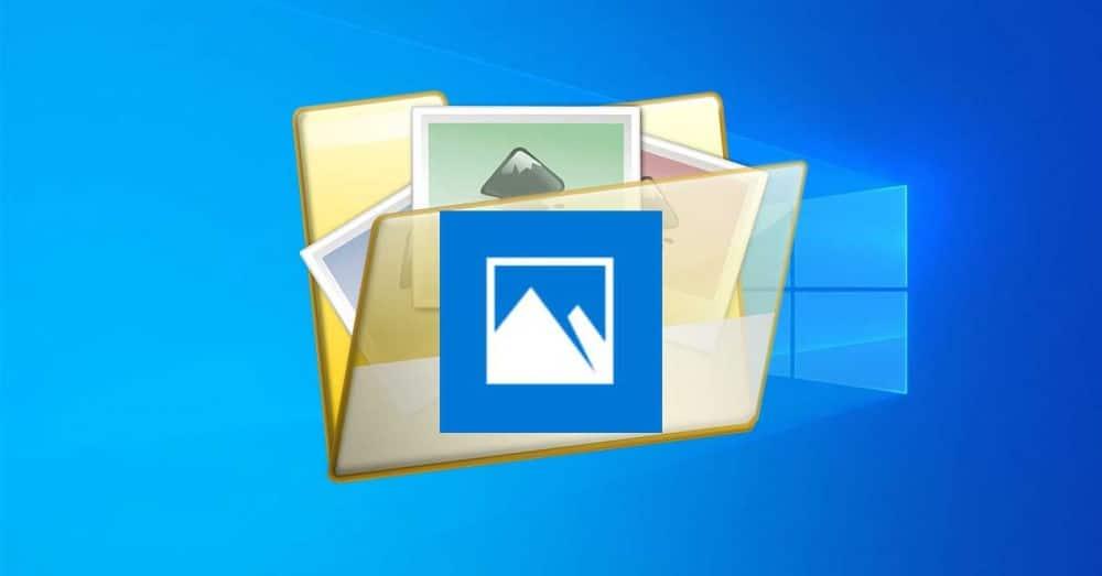 Aplicativo de fotos do Windows 10