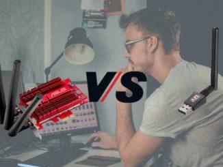WiFi por USB vs por PCIe interno