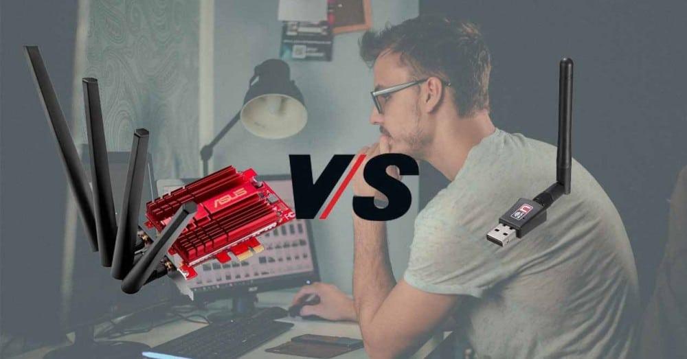 WiFi přes USB vs interní PCIe