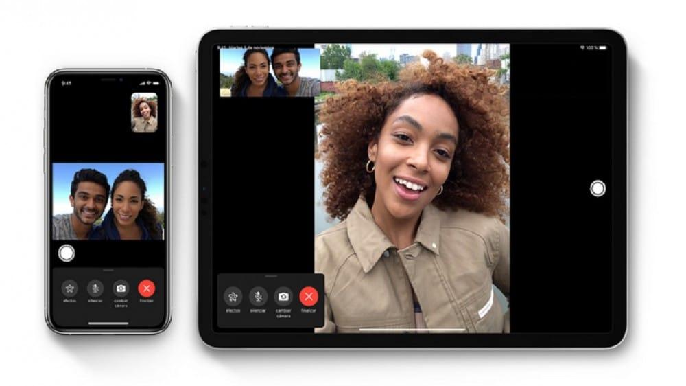 Nahrajte hovory FaceTime na iPad iPhonu