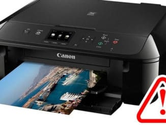 canon printer prints blank pages