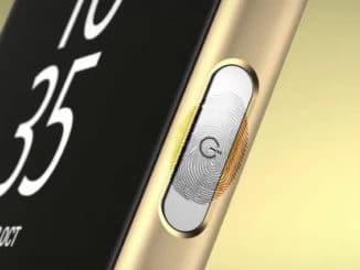 fingerprint sensor sony
