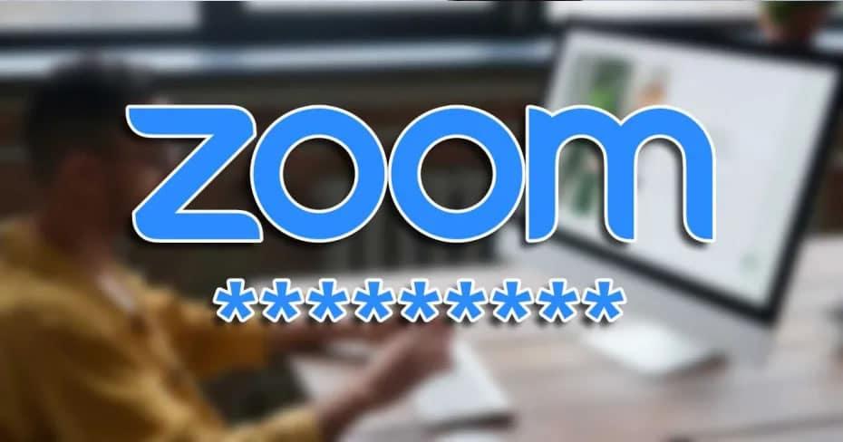 zoom password