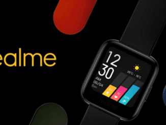 Realme Watch: New Images and Details of its Functions