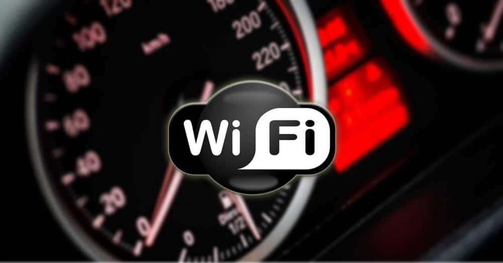 See the Speed of Wired LAN Connection and WiFi