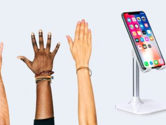Keep the Phone Standing on the Table: Accessories and Tricks