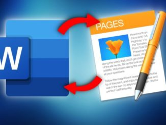 Transfer Word Documents to Pages and Vice Versa