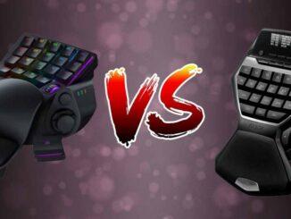 Gamepad-uri Razer Tartarus V2 vs Logitech G13