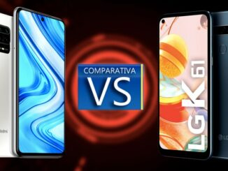 Xiaomi Redmi Note 9 vs the LG K61