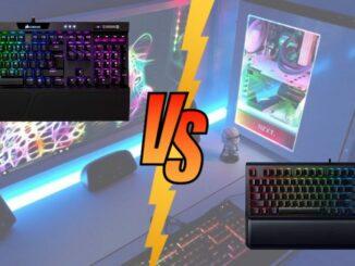 Corsair K70 vs Razer BlackWidow