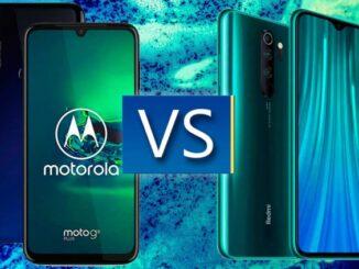 Motorola Moto G8 Plus vs Xiaomi Redmi Note 8 Pro
