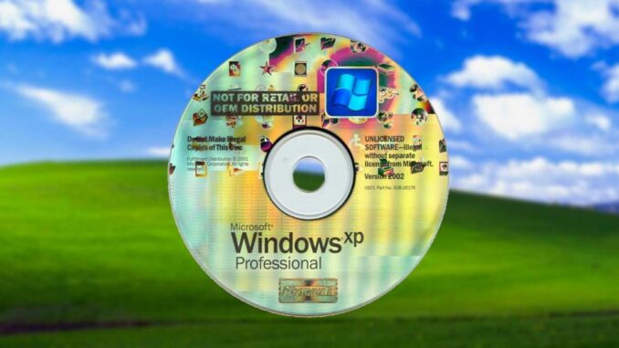 Download ISO from Windows XP