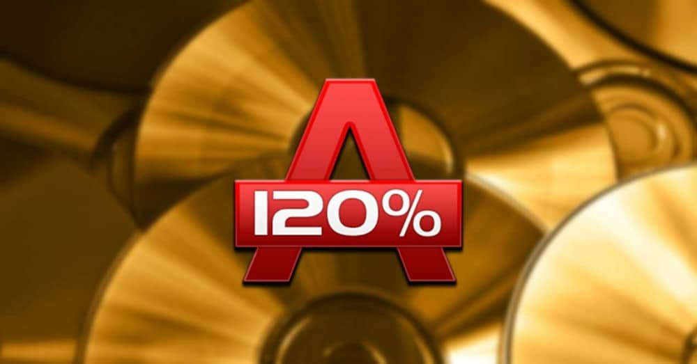 Alcohol 120%: Program to Record CD, DVD and Blu-Ray