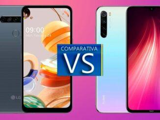 LG K61 vs Xiaomi Redmi Nota 8: Comparație