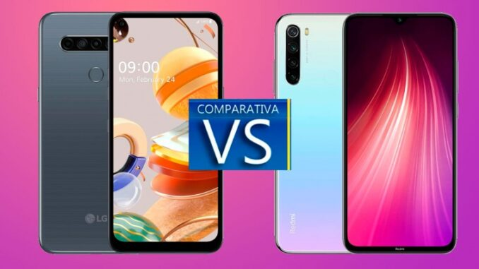 LG K61 vs Xiaomi Redmi Note 8: Comparison