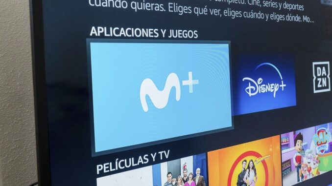 Instalați și vizionați Movistar + pe un Amazon Fire TV Stick