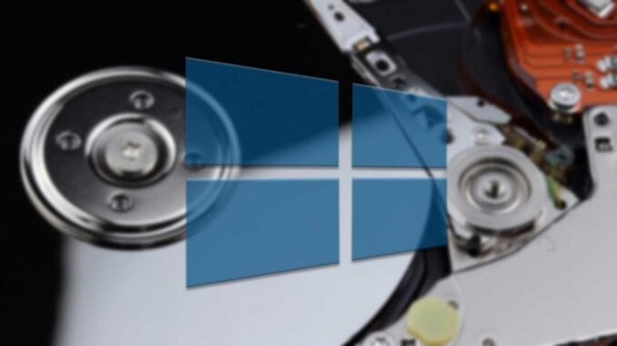Microsoft Fixes Error with Windows Recovery Partition