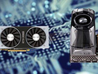 NVIDIA GTX 1080 vs RTX 2060