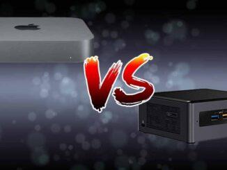 Technical Comparison Mac Mini vs Intel NUC