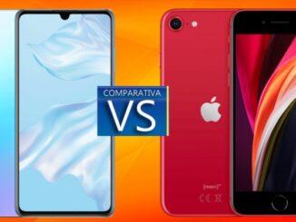 Huawei P30 vs iPhone SE