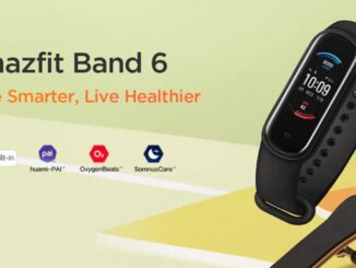 Amazfit Band 6: Leaked Features
