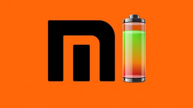 Activate the Battery Percentage on a Xiaomi Mobile