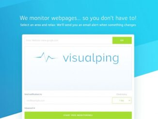 Monitor Changes in Websites with Visualping and Receive Alerts