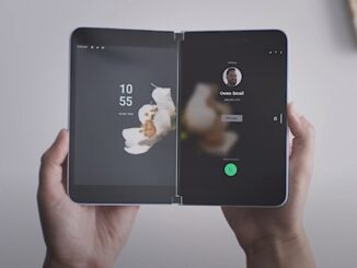 Features of Microsoft's Folding Mobile