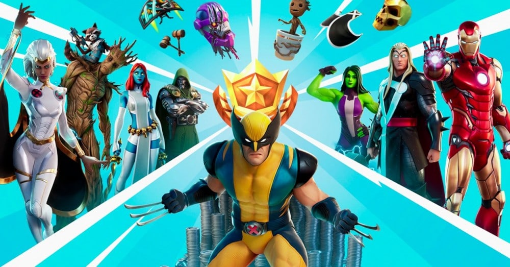 Fortnite Chapter 2 Season 4: Marvel Map, Weapons and Challenges