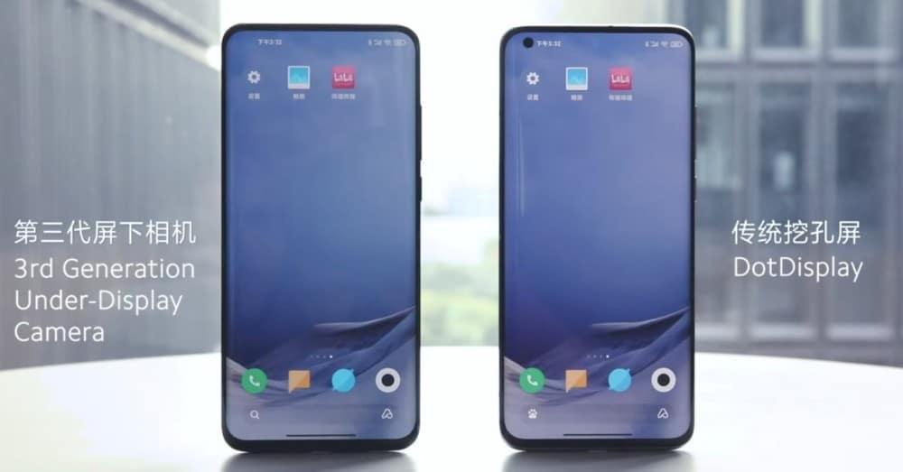 Xiaomi își îmbunătățește tehnologia camerei frontale sub ecran