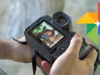 Încărcați fotografii pe Google Photos de pe o cameră Canon