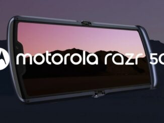 Motorola Razr 5G Presented