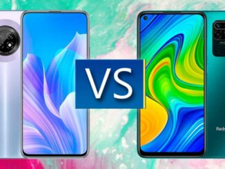 Comparison of Redmi Note 9 vs Huawei Y9a