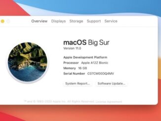 Launch of macOS Big Sur and Mac with ARM