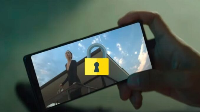 Set an App on the Screen of a Sony Xperia Mobile