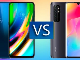 Moto G9 Plus vs Xiaomi Mi Note 10 Lite