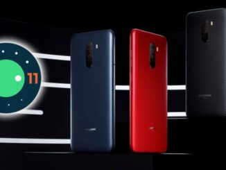 Update of the Pocophone F1 with Android 11