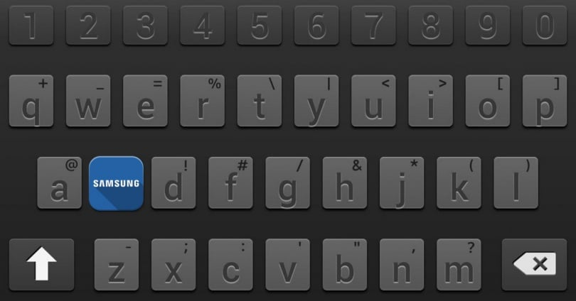 Samsung Keyboard: How to Activate the Toolbar