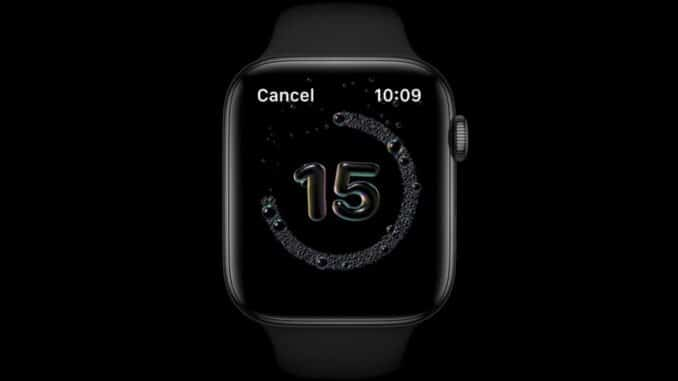 Enable or Disable Handwashing on Apple Watch