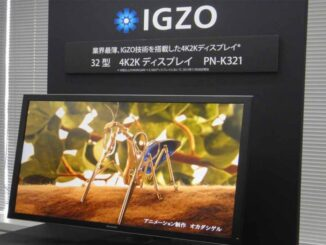 Monitor with IGZO Panel