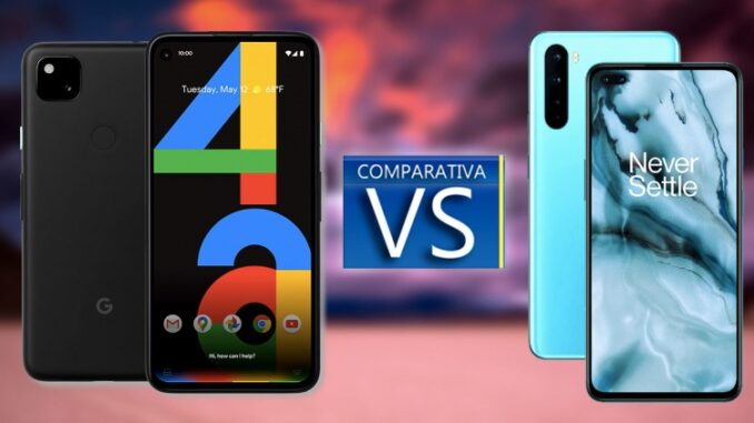 Comparison Between Google Pixel 4a and OnePlus Nord