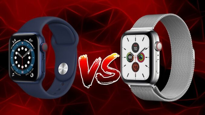 Apple Watch Series 6 vs Series 5