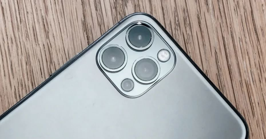 Cameras of the iPhone 12 Pro