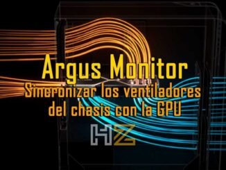 Argus Monitor: Synchronize the Case Fans with the GPU