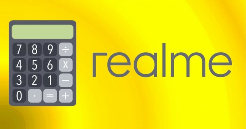 Realme: Use Calculator in Floating Window Mode